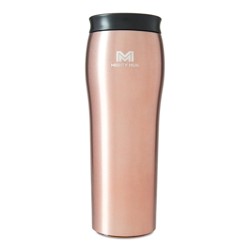 Mighty Mug Go Alloy Stainless Steel - Rose Gold (Free Shipping)