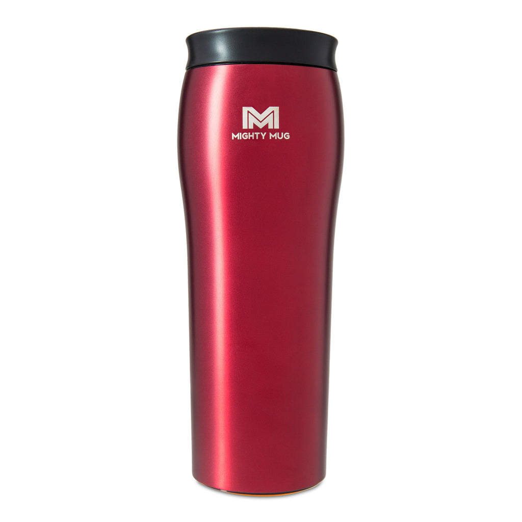 Mighty Mug Go Metallic Stainless Steel - Rosebud