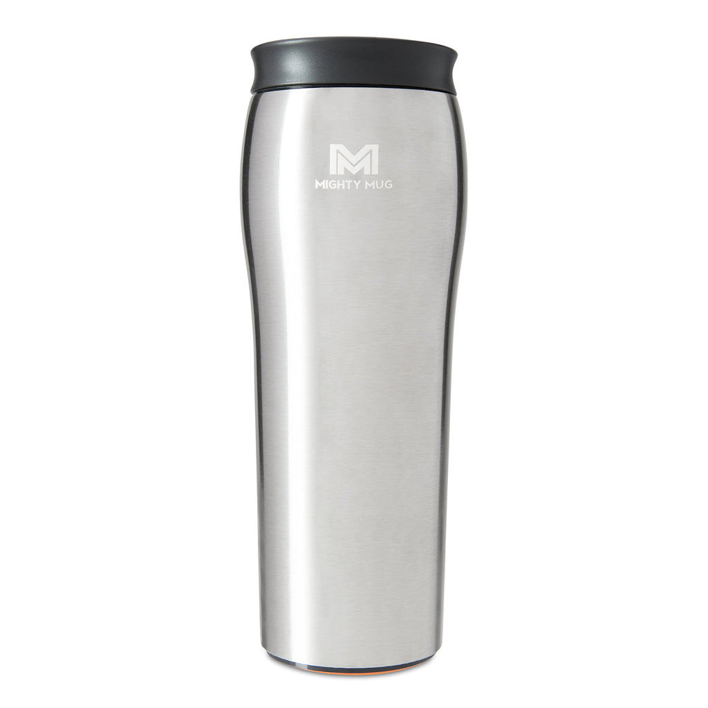 Mighty Mug Go Alloy Stainless Steel - Silver