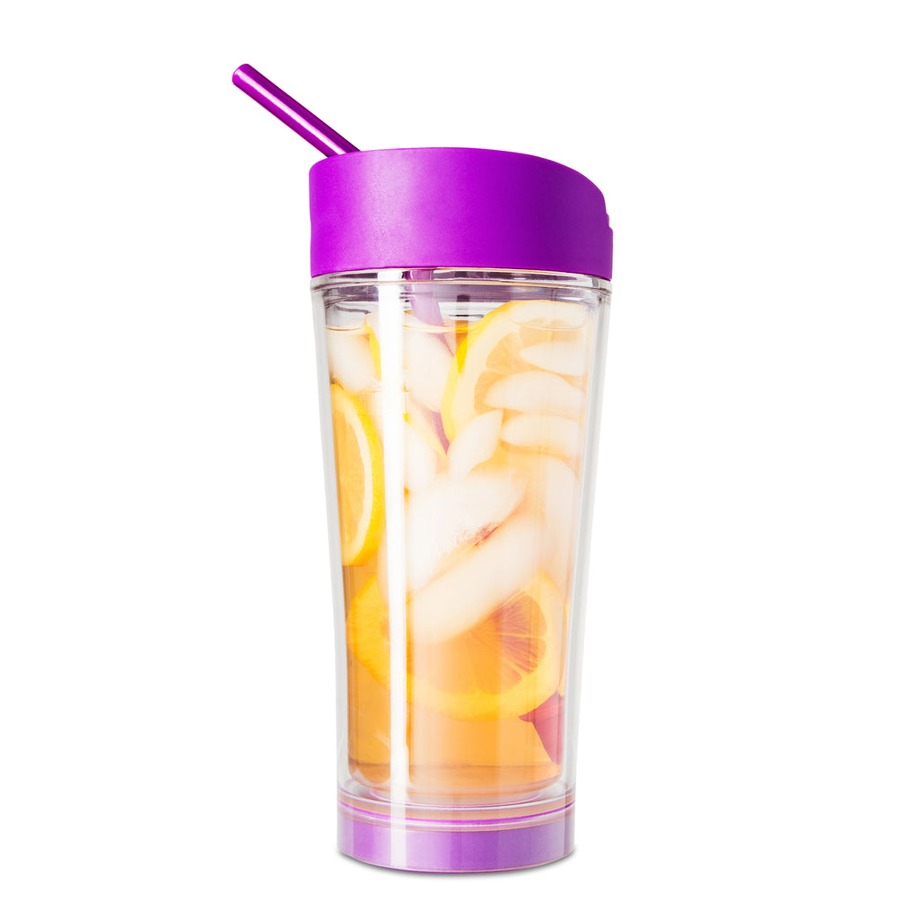 Mighty Mug Ice: Purple (Clear)