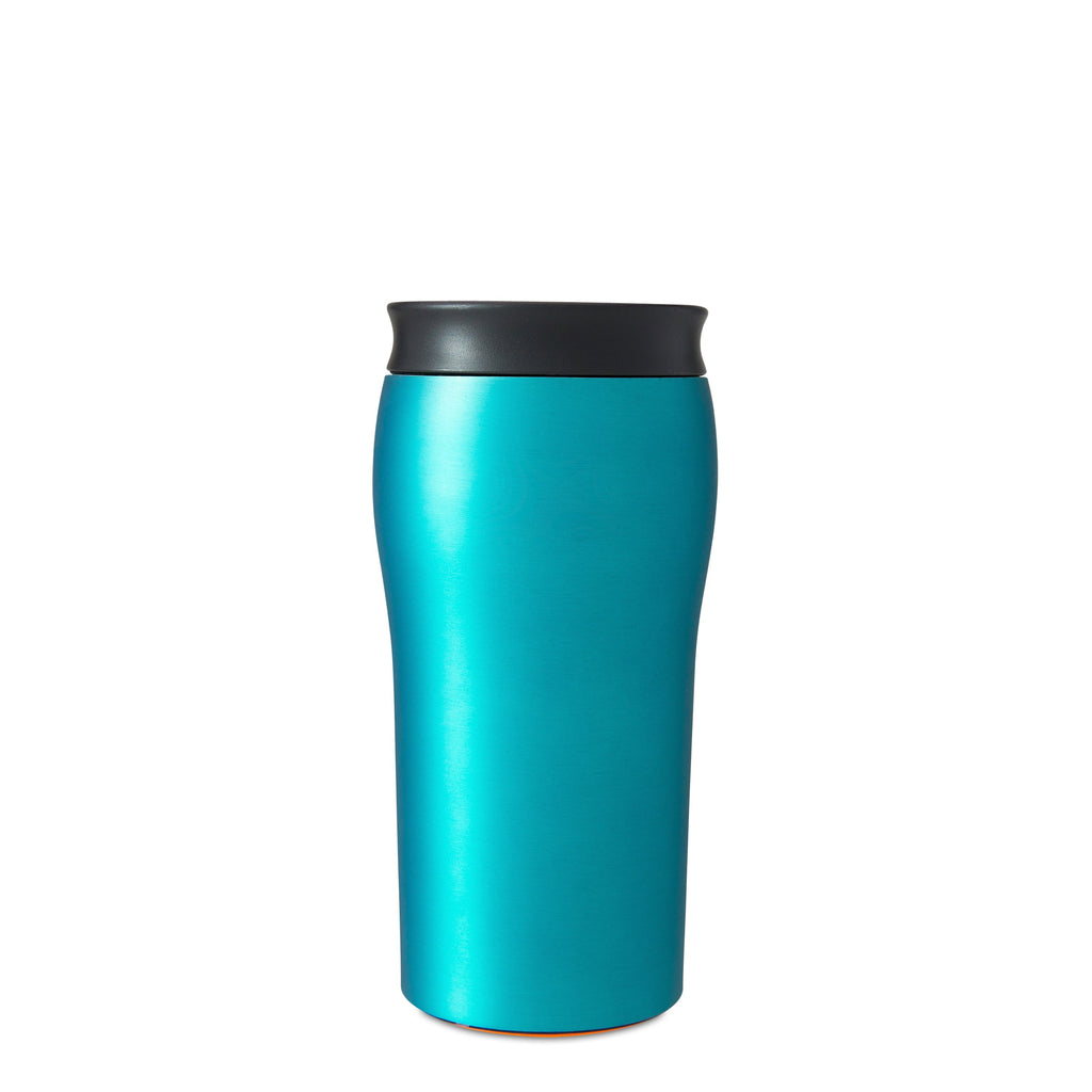 Mighty Mug Solo Metallic Stainless Steel - Teal
