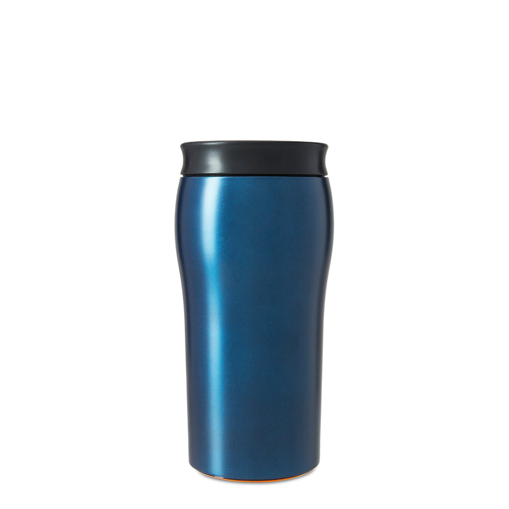 Mighty Mug Solo Metallic Stainless Steel - Oceanic Blue