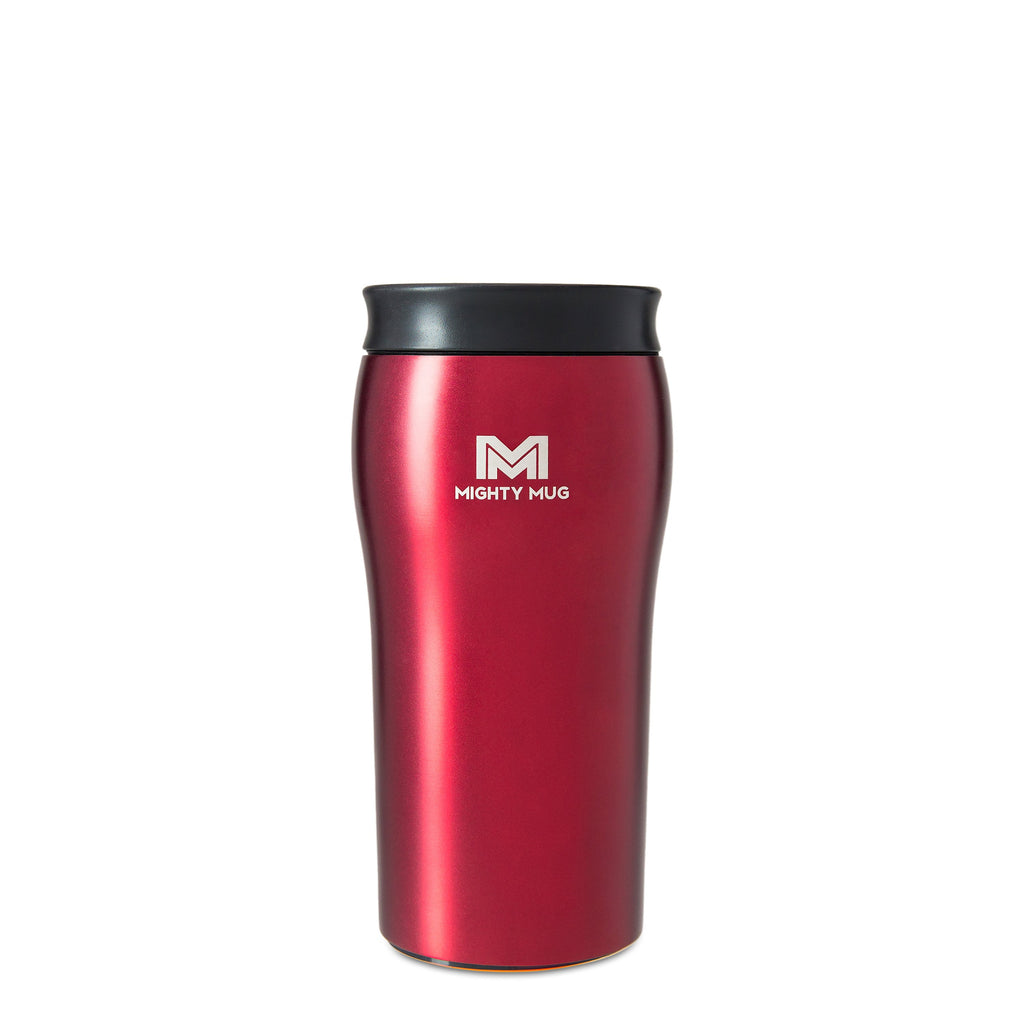 Mighty Mug Solo Metallic Stainless Steel LP - Rosebud Red