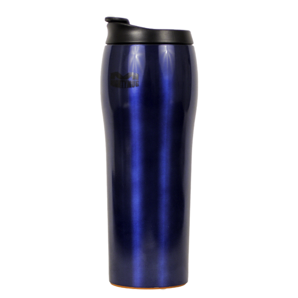 Mighty Mug Go SS - Stainless Steel Blue