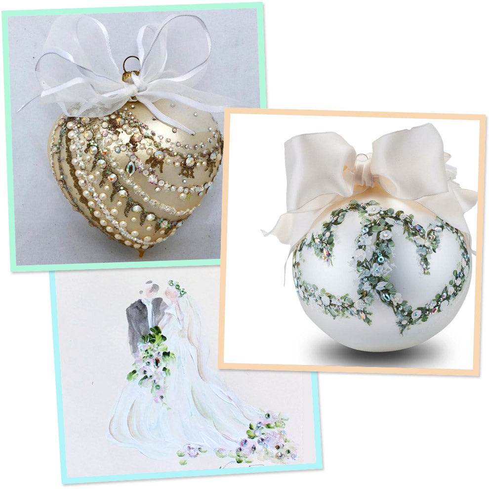 Wedding Couture Gifts, Ornaments, Glass Hearts, Cards, Invitations ...