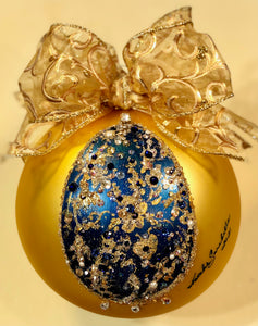 "EASTER EGG 6"" ORNAMENT  - Natalie Sarabella"