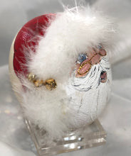 Load image into Gallery viewer, SANTA OSTRICH EGG - Natalie Sarabella
