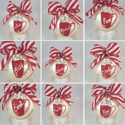 "Hot Cocoa 4""  Baubles   SPECIAL!!!      By  Sarabella. Studio"