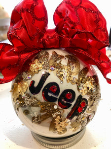 "JEEP ORNAMENTS  ""It's a Jeep Thing"""