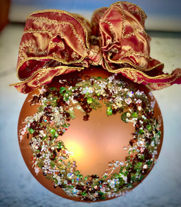 HAPPY HARVEST WREATH ORNAMENT - Natalie Sarabella