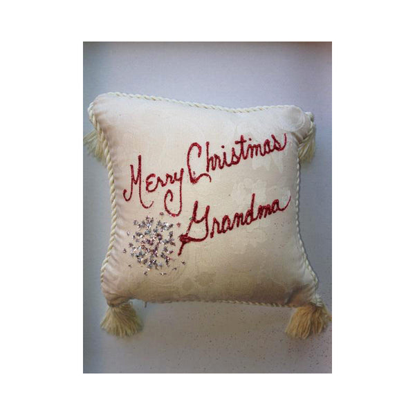 Pillow - Merry Christmas Grandma