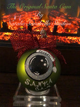 Load image into Gallery viewer, SANTA CAM ORNAMENT - NATALIE SARABELLA