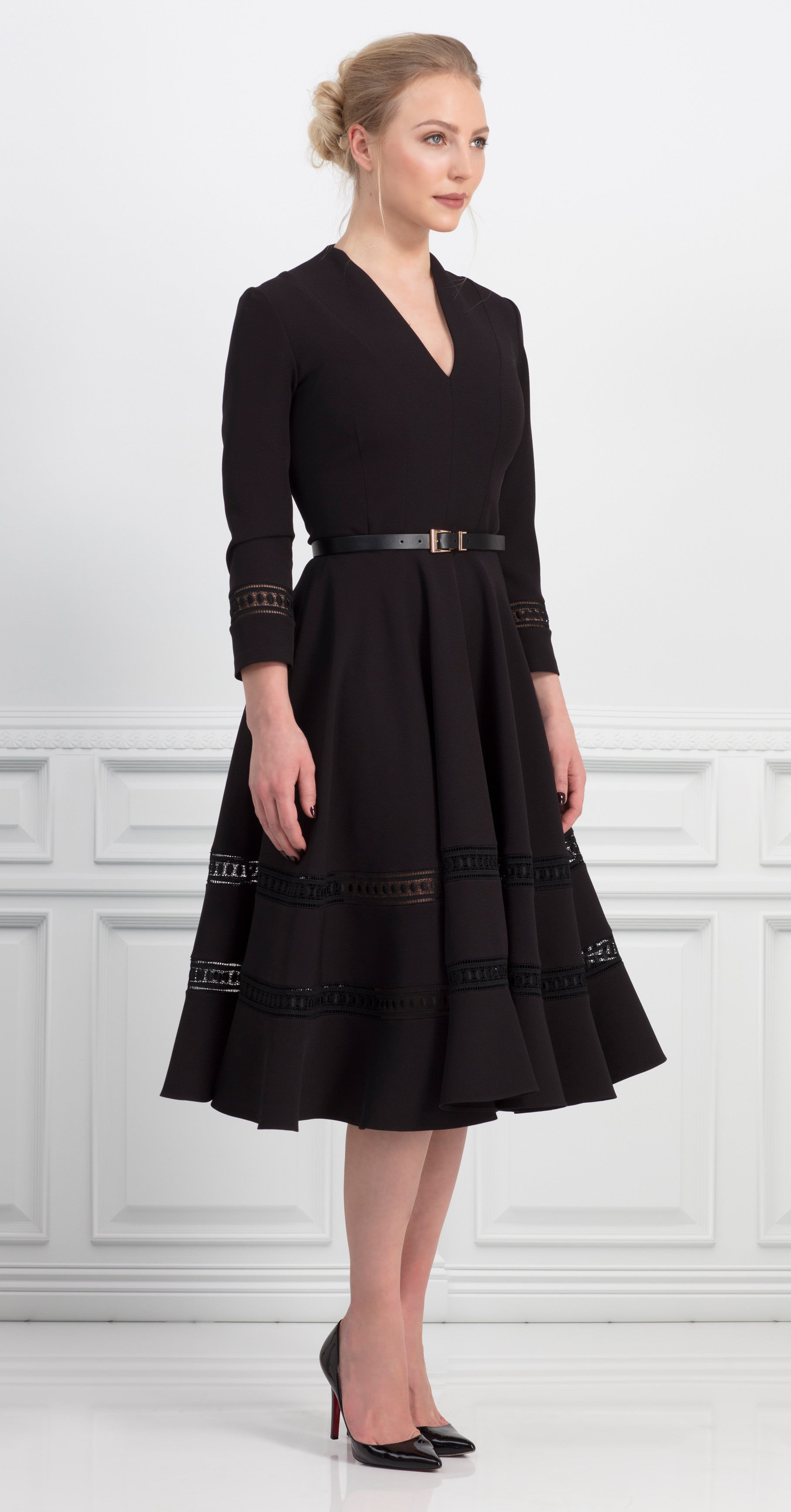 DAKOTA DRESS BLACK