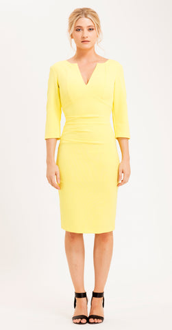 LOURDES DRESS YELLOW