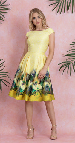 LUNA DRESS YELLOW
