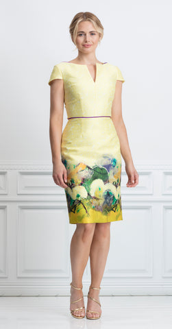 MADRID DRESS YELLOW