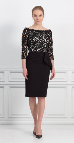 MANHATTAN DRESS BLACK