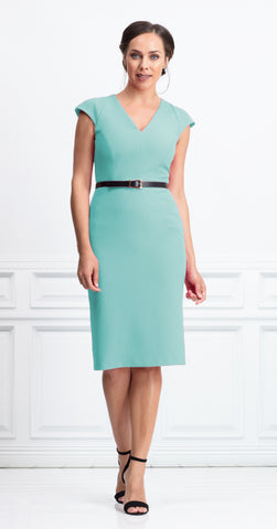 OLVERA DRESS PASTEL MINT