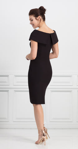 PALERMO DRESS BLACK
