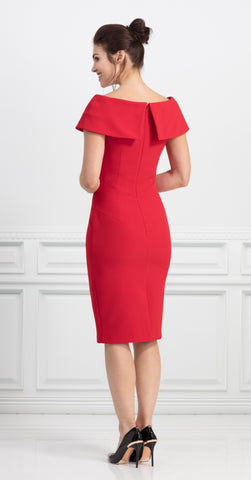 PALERMO DRESS RED