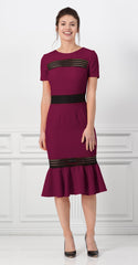 ROCHESTER DRESS PLUM