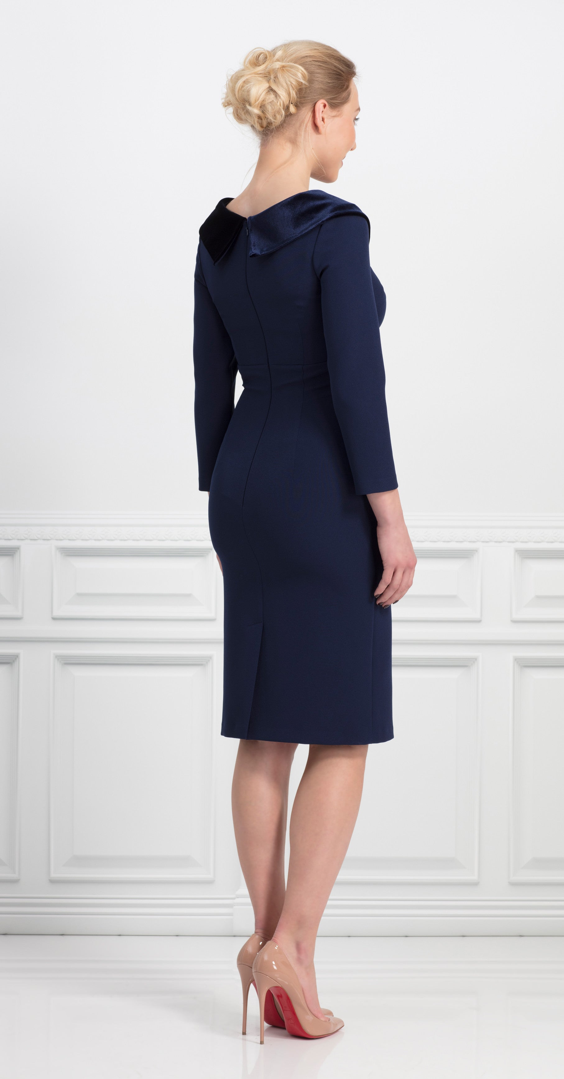 ROSWELL DRESS NAVY