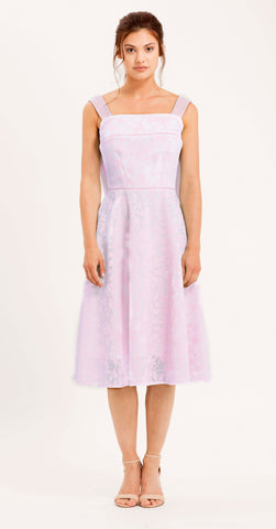 SALERNO DRESS PALE PINK