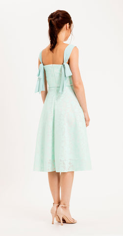 SALERNO DRESS PALE MINT