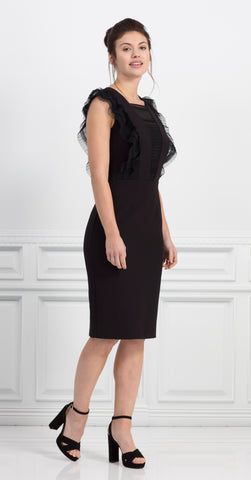 VISTA DRESS BLACK