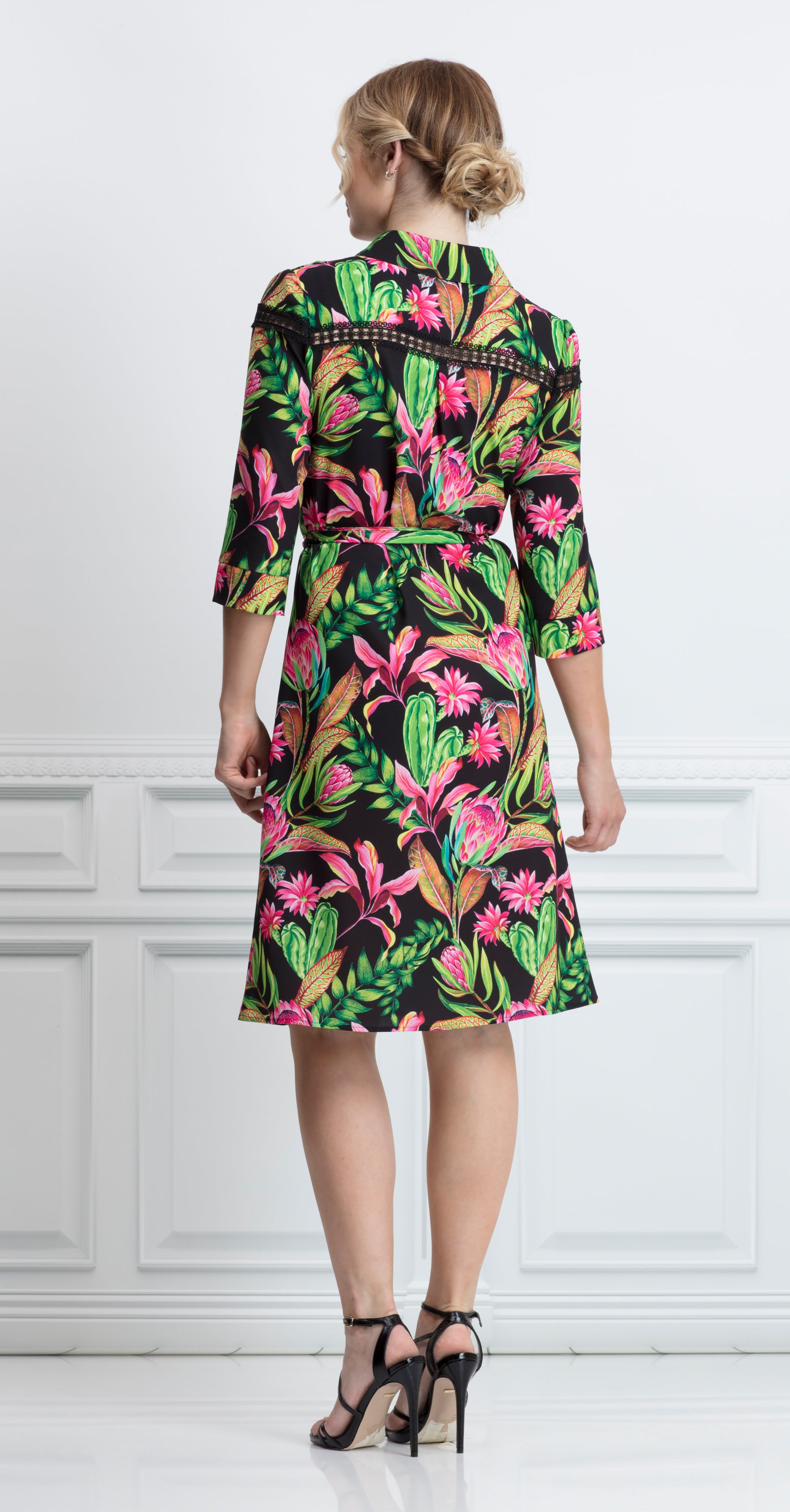 ZORITA DRESS TROPICAL