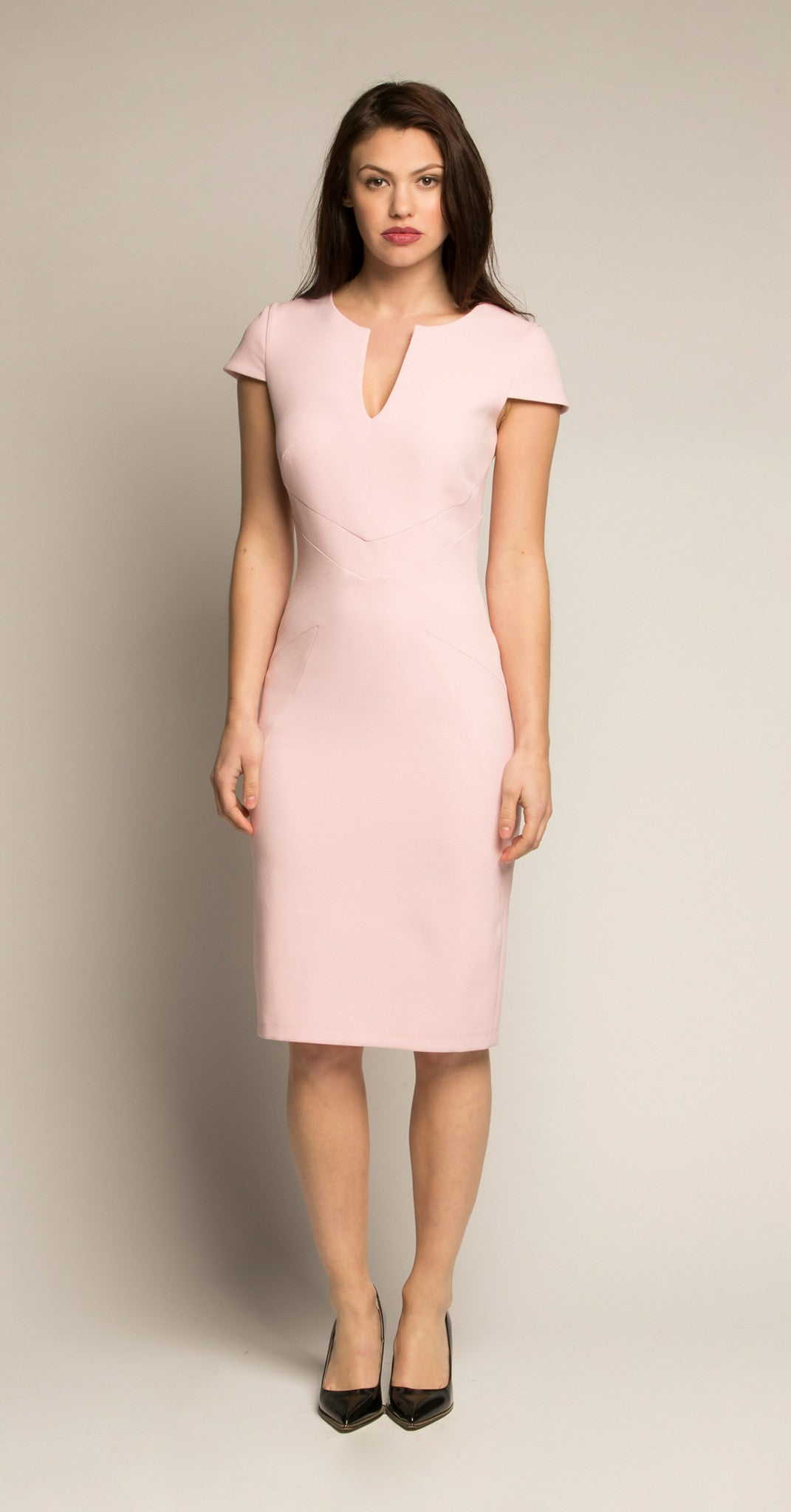CAMBRIDGE DRESS PINK