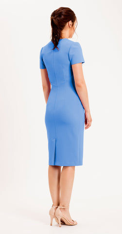SORRENTO DRESS CORNFLOWER