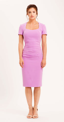 SORRENTO DRESS LILAC