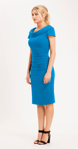 VIRGINIA DRESS AZURE