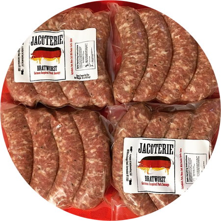 Jacuterie Bratwurst (16 oz pack)