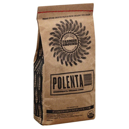 Polenta/Grits- Organic Farmer's Ground (2 lb)