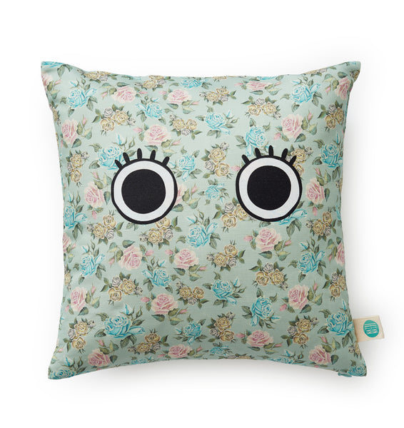 mormor pillow - blommor
