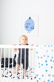 toddler/crib duvet set - twigs
