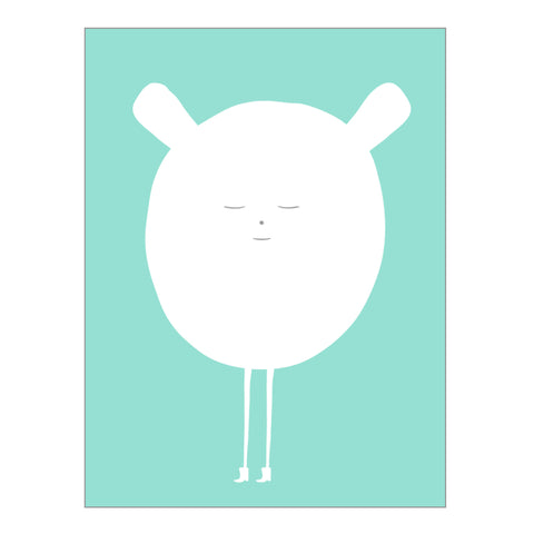 art print - happy