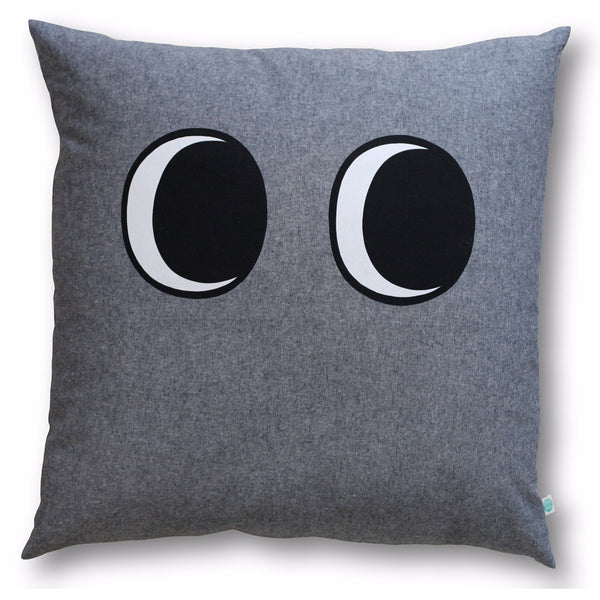 floor pillow - heathered grey
