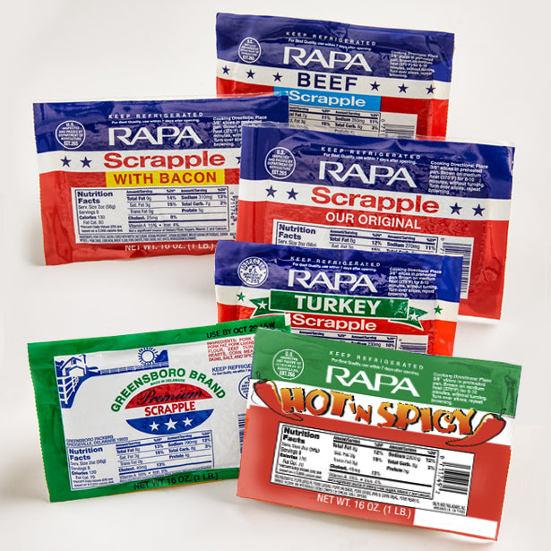 RAPA Scrapple Products Available In Stores