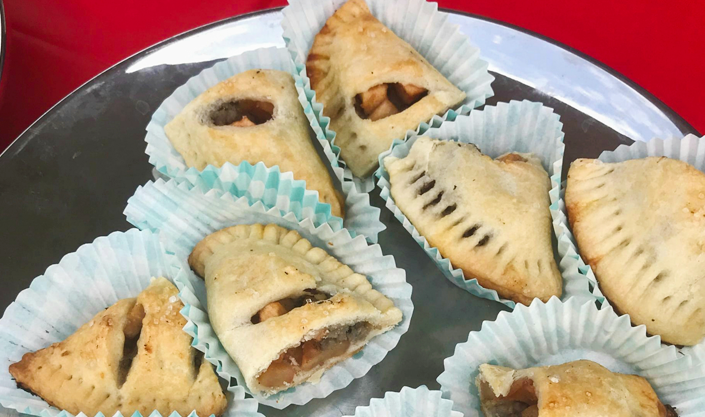 Apple Scrapple Hand Pies