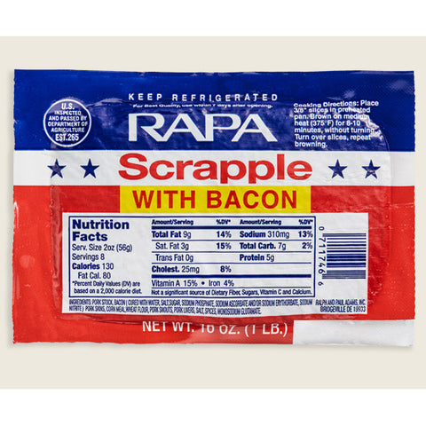 Bacon Scrapple