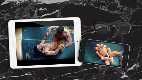 Downloading Movimus Wrestling Matches to your iOS devices- i.e. iPad, iPhones etc.