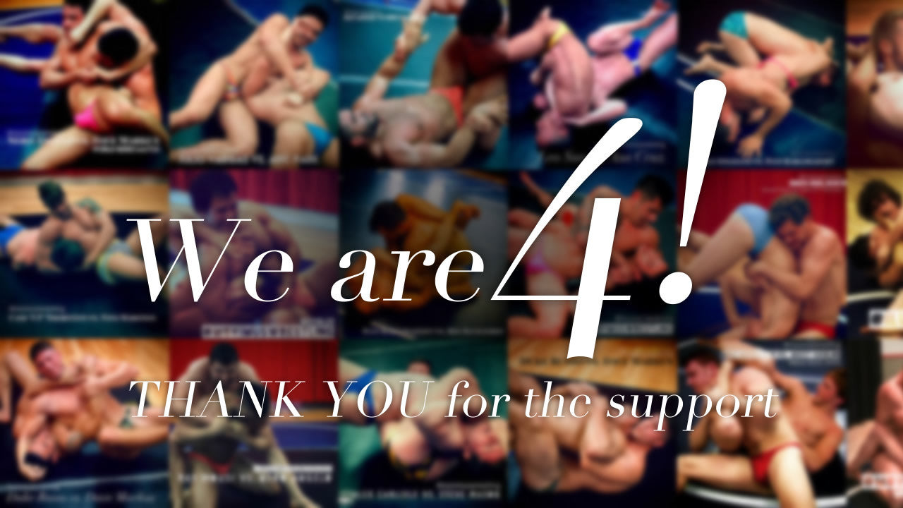 We Are 4!!!