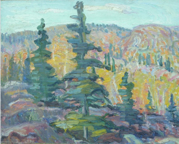 George Alfred Paginton Canadian Landscape Artist Wall Fiction