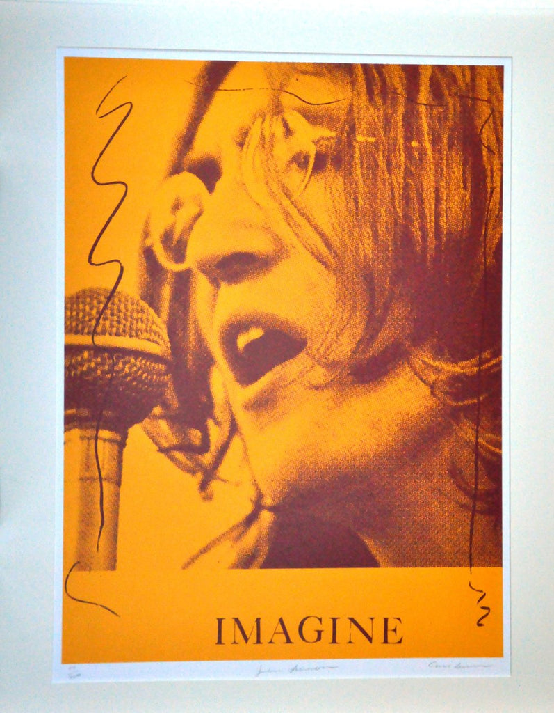 "CARL BEAM ""JOHN LENNON - IMAGINE"" 123/200"
