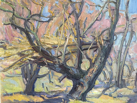 AFTERNOON IN THE FOREST, Paginton, Group of Seven, Tom Thomson, AY Jackson, Odon Wagner, Lock Gallery, Alan Klinkhoff, Heffel, PAMA, Peel Art Gallery