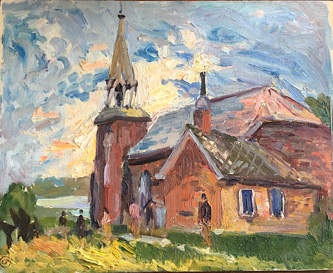 CHURCH MORRISBURG, Paginton, Group of Seven, Tom Thomson, AY Jackson, Odon Wagner, Lock Gallery, Alan Klinkhoff, Heffel, PAMA, Peel Art Gallery