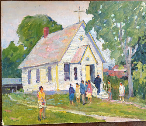 "GEORGE ALFRED PAGINTON, ""INDIAN CHURCH IN BRITISH COLUMBIA"" Circa1955"